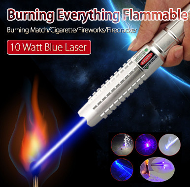 10000mw burning laser pointer