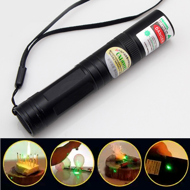 Incredible 3000mw 520nm Beam Light Green Laser Pointer