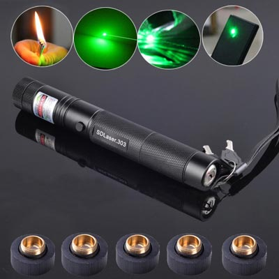 3000mW 532nm Beam Light Green Laser Pointer