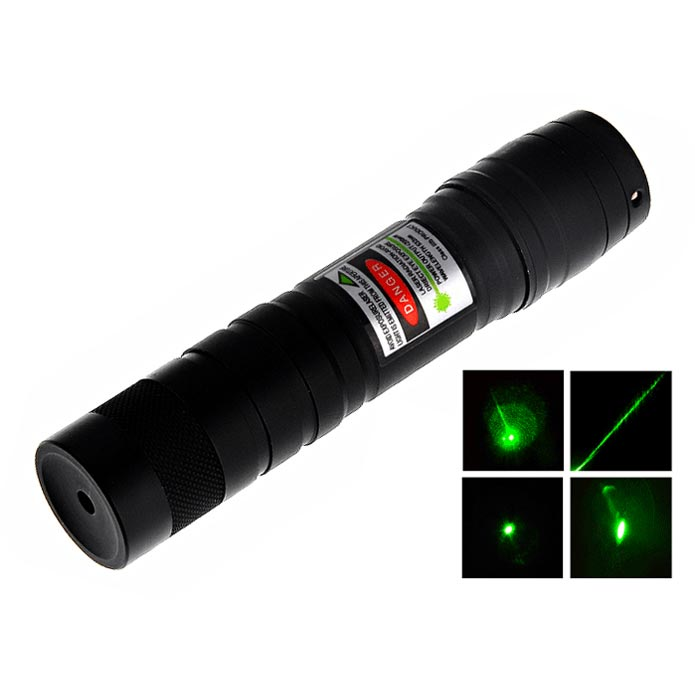 mini flashlight green laser pointer 50mW