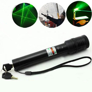 portable green flashlight laser pointer 200mW