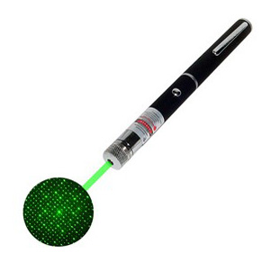 green star laser pointer 10mW moderate power