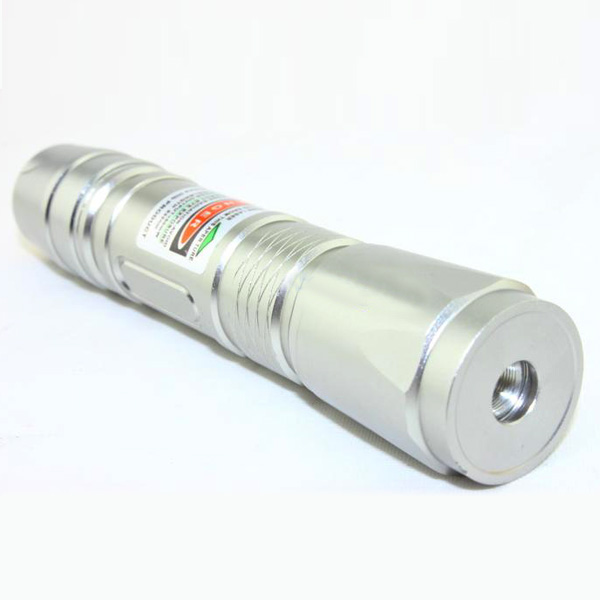 200mw Star Green Laser Pointer with LED Flashlight