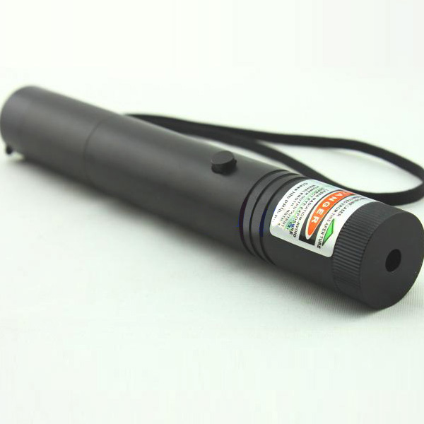 Flashlight Style Green Laser Pointer