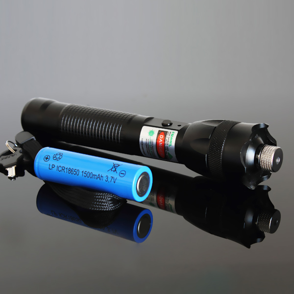 200mW green Laser Pointer Flashlight Torch with safe lock burn match with full star sky