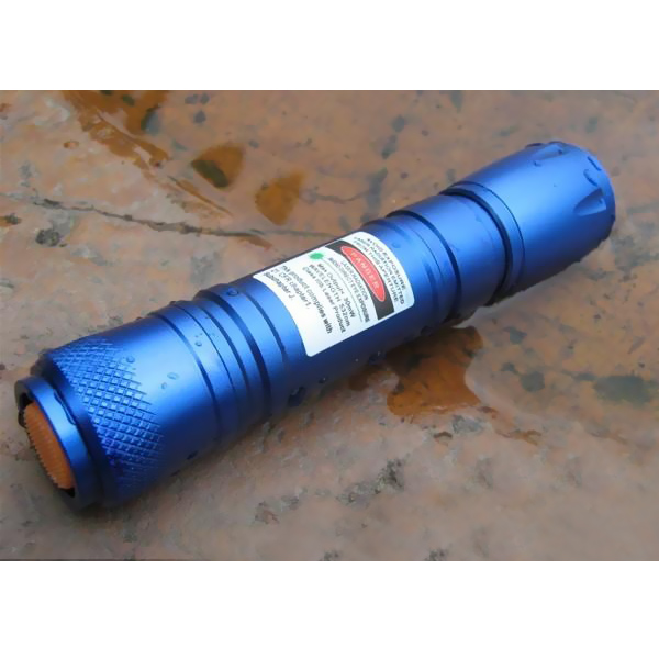 New 50mW waterproof green laser pointer Classic blue flashlight