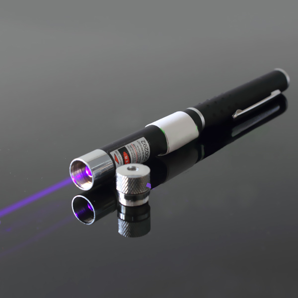 20mw Blue Violet star laser pointer pen