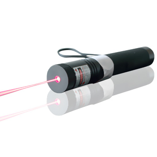 200mw Red Laser Pointer Flashlight Torch with 2 batteries and safe lock can burn match