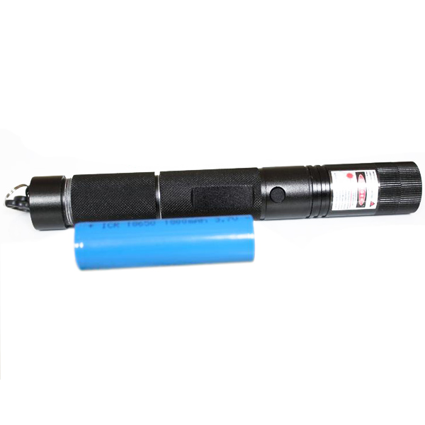 200mw Focusable Red Laser Pointer Flashlight Torch with star can burn match in the 4 meters away
