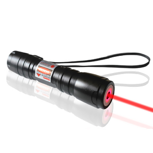 200mw Focusable Flashlight Torch Red Laser Pointer can burn match