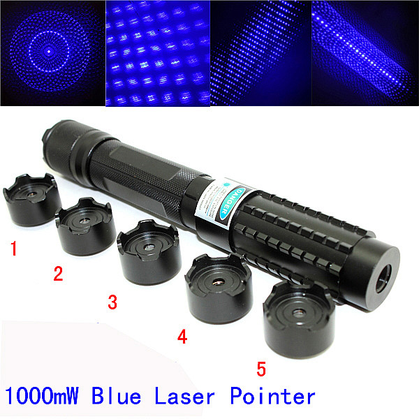 high power 1000mw blue laser pointer