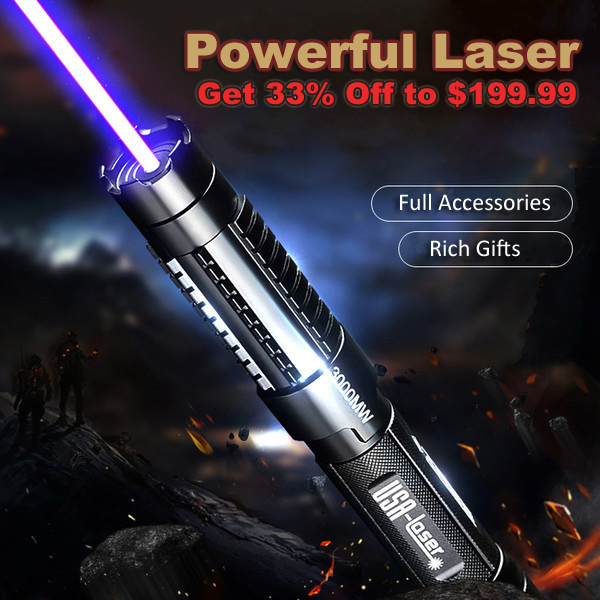 flashlight style adjustable high power laser pointer 30000mw