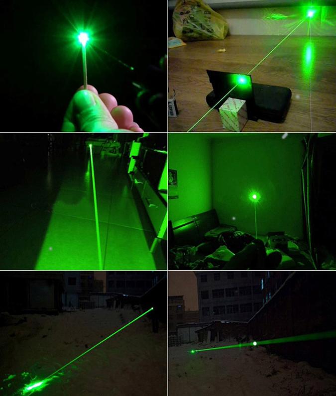 Cheap Green 1000mw Laser Pointer Powerful Flashlight