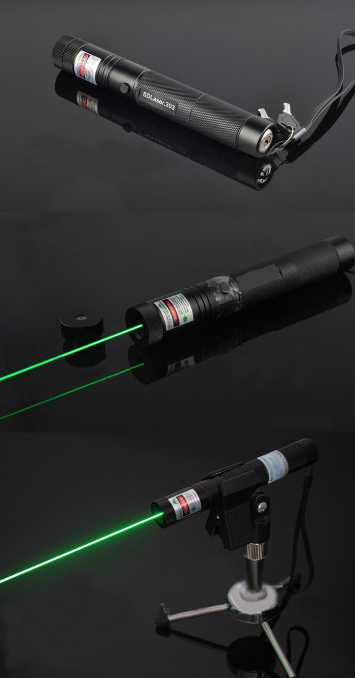 laser pointer flashlight