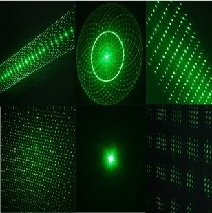 5in1 20mw green laser