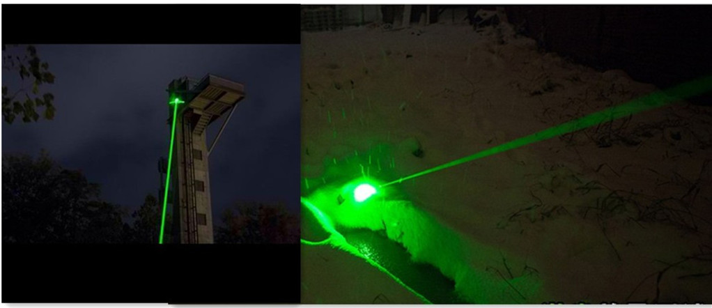 high power 1000mw green laser