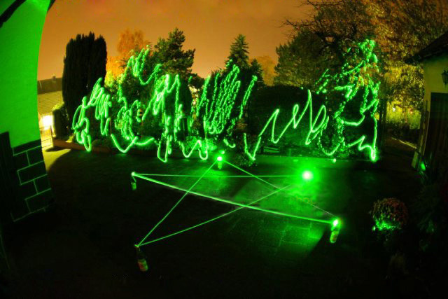 green laser flashlight 200mw