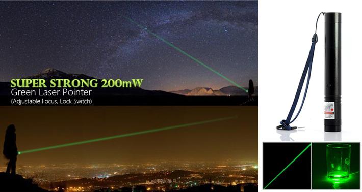 2000mw green laser