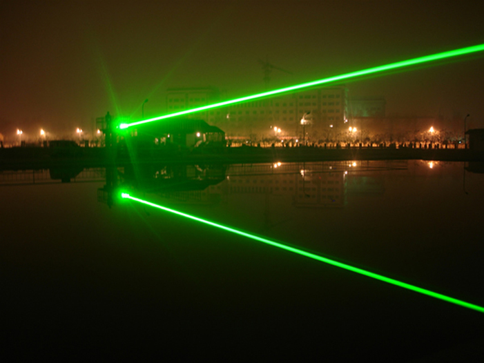 5000mw Green Laser Pointer Astronomy Burning Cigarette