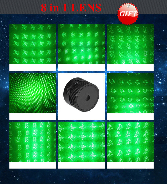 green laser flashlight