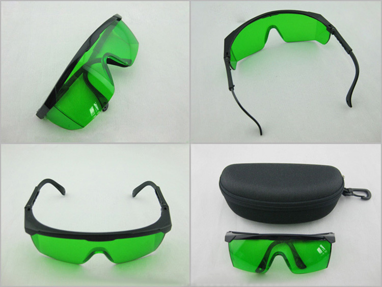 high quality blue safety laser goggles