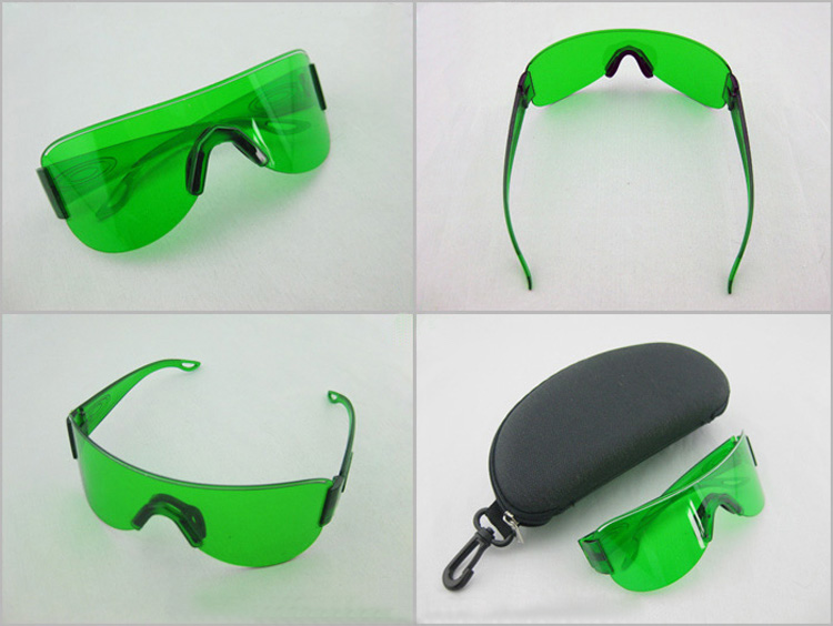fashion blue safety laser goggles